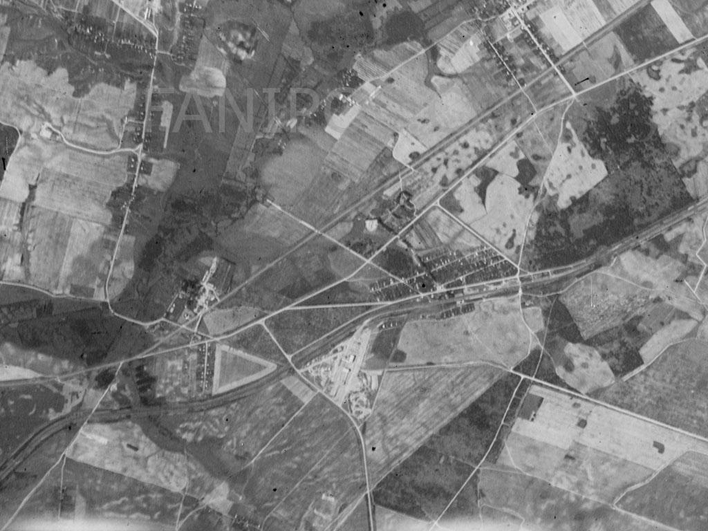 Фаниполь со спутника (1963 год)