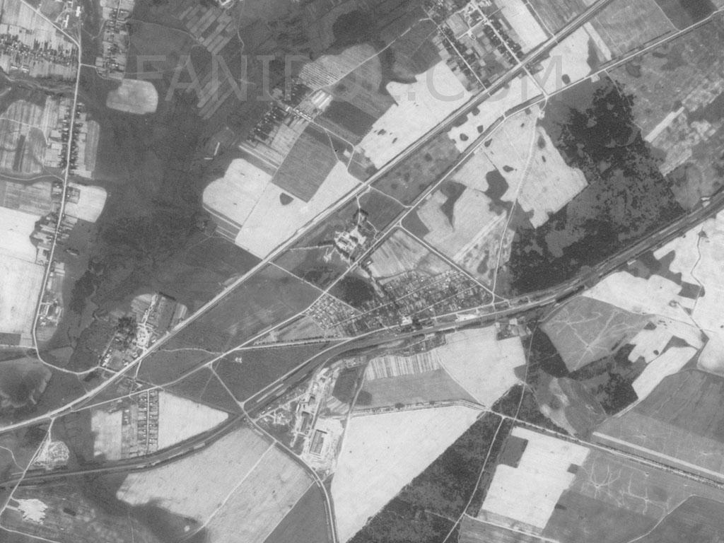 Фаниполь со спутника (1967 год)